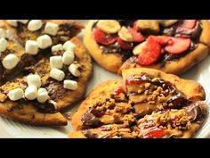 Mini Nutella Pizzas - YouTube