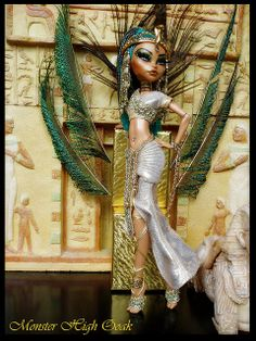 Egyptian Goddes Monster High OOAK | Flickr - Photo Sharing!