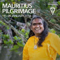 The 2018 Mauritius pilgrimage was an experience of a lifetime as devotees had the opportunity to travel to the country where Paramahamsa Vishwananda's life and mission began. During this time, the pilgrims explored the local region and spiritual sites as well as took part in ceremonies at the Sri Ranganath temple and a traditional Mauritius wedding.   paramahamsavishwananda.com bhaktimarga.org