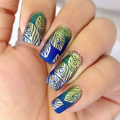 Uma's Nail Art: Pueen Theme Park Collection - Animal Safari 01 Stamping Plate Swatches and Review..
