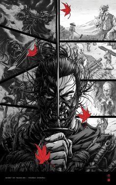 Afro Samurai, Samurai Tattoo, Samurai Wallpaper, Couples Anime, Ghost Of Tsushima, Samurai Artwork, Sucker Punch, Poster Series, Video Game Art