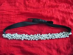 Fashion Happenss: DIY: Pearl belt