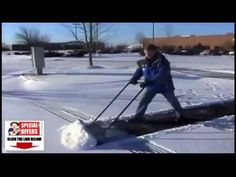 Power Dynamics Snow Shovel? Power Dynamics Flip It Snow Shovel on Wheels REVIEW!^^ - YouTube