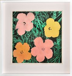 Andy Warhol- Flowers 1964