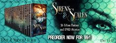 Steamy Books Lover: PRE-ORDER TOUR - SIRENS & SCALES ANTHOLOGY BY VARI...