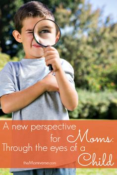 A new perspective for moms: Through the eyes of a child | The Momiverse | Mother's Day, #MothersDay #moms #mom #children #kids