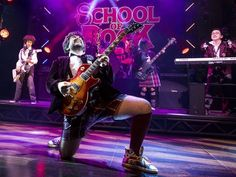 Pledge Allegiance to the Band! Get a First Look at School of Rock, Starring Alex Brightman