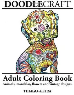 Doodlecraft is a coloring book for grown-ups featuring 36 stress relieving doodle designs including animals, mandalas, flowers and vintage designs. Paperback: 76 pages Publisher: CreateSpace Independe