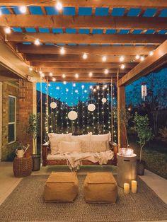 Outdoor Spaces, Outdoor Living, Outdoor Kitchens, Outdoor Life, Pergola Design, Diy Pergola, Pergola Plans, Modern Pergola, Pergola Swing