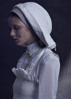 miahanamura:Vogue.it   Clara McNair by Léa Nielsen