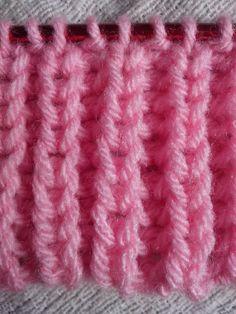 Aprenda a tricotar o famoso, fácil e lindo ponto Falso Inglês. Facebook: https://www.facebook.com/pages/Artes-em-L%C3%A3s-e-Linhas/510006429023128?ref=hl