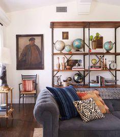 13+1 phantastisch kreative Deko Ideen mit alten Globen - DIY Dekoration mit alten Globen