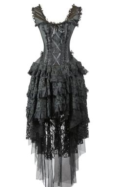 SteampunkDressesandCostumes Steampunk Corset Dress  AT vintagedancer.com
