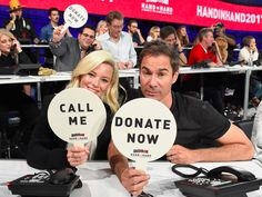 An army of Hollywood stars teamed up for a huge Hurricane Harvey and Irma relief fundraiser End Of Year, Raise Funds, Hollywood Celebrities, Hollywood Stars, Fundraising, Schools, Tuesday, Foundation, Campaign