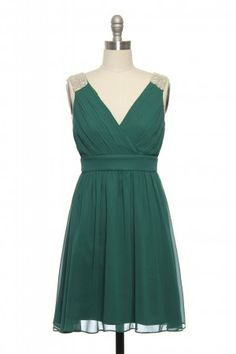 Just Bead It Dress in Green | Vintage, Retro, Indie Style Dresses