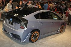 A hotrodded #Toyota #Prius ? Only at #SEMA