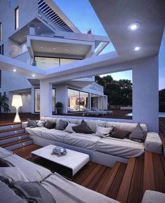 My Dream Home - Wohnung / Haus - Quotes Future House, Design Exterior, House Goals, Modern House Design, Modern Houses, Fancy Houses, Houses Houses, My Dream Home, Dream Job