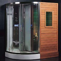 The Ariel Platinum DS202 Steam Sauna Bath Combo