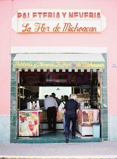 La Flor de Michoacan. Guadalajara 2011 - the best icecreams in the world.