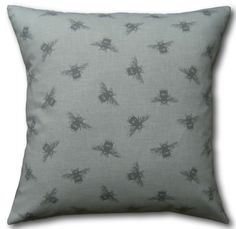 Designer Cushion Covers Vintage Bumble Bees Grey Linen Look Throw Pillows Cushion Covers Uk, Cushion Cover Designs, Animal Cushions, Grey Cushions, Bumble Bees, Traditional House, Country Living, Decorative Pillows, Room Decor