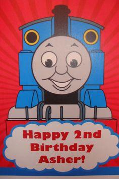 Maid Marian Made: Made ~ Thomas the Tank Engine Birthday Party
