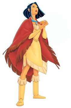 Disney Princess Gets a Makeover In Today's Most Popular Beauty Trends - Pocahontas, Lob Disney Pocahontas, Disney Pixar, Princess Pocahontas, Arte Disney, Disney Fan Art, Disney Animation, Disney Characters, Disney Artwork, Princess Celestia