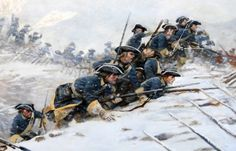 Charge of the Swedish infantry, Great Northern War