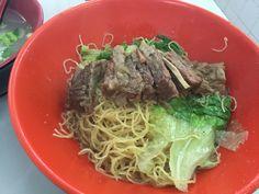 Beef tendon noodles