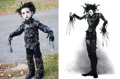 Impressive Edward Scissorhands costume     #Halloween #costume #EdwardScissorhands
