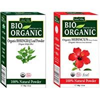 Indus Valley Bhringraj Leaf Powder With Hibiscus Flower Powder 100 Natural Pure And Organic In 2020 Pure Products Hibiscus Flowers Hibiscus