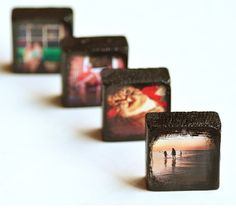 Make DIY Instagram Photo Blocks at Intimate Weddings, featured by @savedbyloves