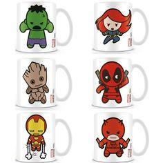 Mug Marvel Kawaii