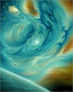 Spiritual Art, Healing Art, Cosmic Painting