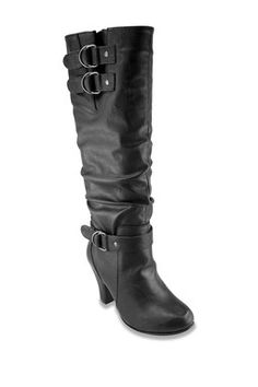 Rampage Slouched High Heel Boot