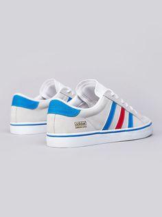 Adidas Americana-Running White/Bluebird/Vivid Red.