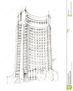 skyscraper drawing - Google Search