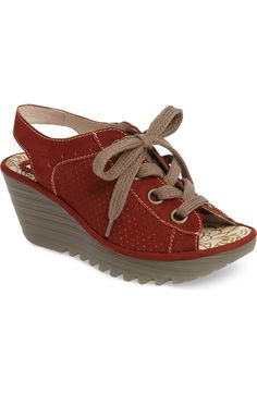 Main Image - Fly London 'Yuta' Platform Wedge Sandal (Women)