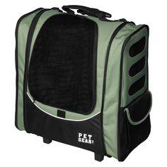Pet Gear I-Go2 Escort Pet Carrier with Adjustable Straps - Sage