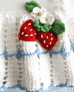 Strawberry T-Shirt Dress and Purse Crochet Pattern http://www.maggiescrochet.com/strawberry-tshirt-dress-and-purse-crochet-pattern-p-337.html #dress #crochet #kids #pattern