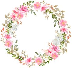 grzyb Valuable Tips For Memory Foam Mattress Pads Article Body: Memory foam mattress pads are becomi Wreath Watercolor, Watercolor Cards, Abstract Watercolor, Watercolor Flowers, Flower Circle, Flower Frame, Floral Bouquets, Floral Wreath, Baby Food Jar Crafts