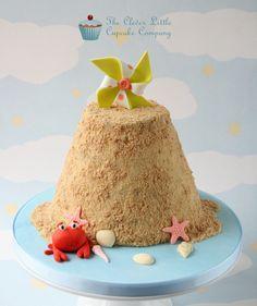 https://flic.kr/p/uWp8NG   Sandcastle Smash Cake   4 layer chocolate sponge with white chocolate buttercream.