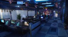 Dragon Internet Cafe - The Secret World Concept Art