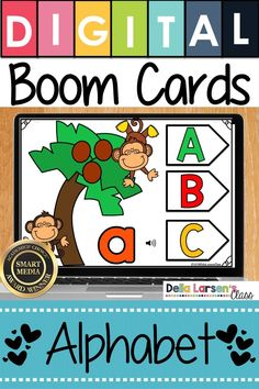 A fun idea to learn the alphabet. Make the adjustment to kindergarten easier with Boom Cards. Fun ideas for Preschool and kindergarten readiness. Help get your student ready for kindergarten and back to school with a fun game on an iPad or a Chromebook. Be ready for the kindergarten curriculum this fall. #readyforkindergarten #kindergarten #backtoschool #readiness Kindergarten Readiness, Kindergarten Classroom, Classroom Activities, Learning Activities, Music Classroom, Teaching Resources, Literacy Stations, Literacy Centers, Teaching The Alphabet