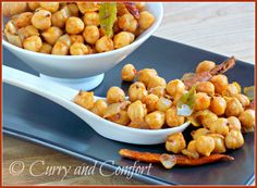 Smoky Spicy Fried Chickpeas | Chickpeas, Chickpea Recipes and Spicy