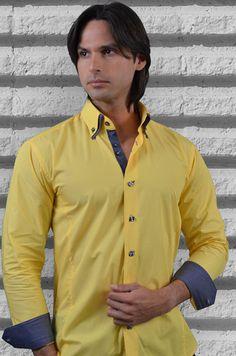 """""""Like"""" this Via Uomo men's shirt? Find this Via Uomo shirt at www.FashionMenswear.com and www.GiovanniMarquez.com: #mensshirt #menswear #mensfashion #menstyle #fashion #fashionmenswear #viauomo"""