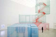 Korean artist Do Ho Suh draws attention to the ways viewers occupy and inhabit public space. Interested in the malleability of space in both its physical and metaphorical manifestations, Suh constructs site-specific installations that question the boundaries of identity. His work explores the relation between individuality, collectivity and anonymity.This film shows some of Suh's artworks …