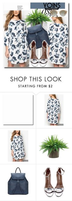 """""""Yoins !!"""" by dianagrigoryan ❤ liked on Polyvore featuring Whiteley, NDI, Miu Miu, yoins, yoinscollection and loveyoins"""