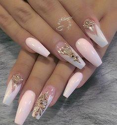 manicure gel nail art 2018 - style you 7 Fabulous Nails, Gorgeous Nails, Beautiful Nail Art, Pretty Nails, Pretty Shoes, Glam Nails, Hot Nails, Bling Nails, Matte Nails