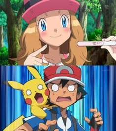 Image - Announcement Know Your Meme x y pregnancy - Pregnancy Pokemon Kalos, Ash Pokemon, Pokemon Ships, Pokemon Comics, Pokemon Memes, Dc Comics, Pokemon Pictures, Funny Pictures, Anime Naruto