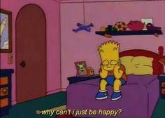 love, sad, and simpsons image Simpson Wallpaper Iphone, Cartoon Wallpaper, Iphone Wallpaper, Simpsons Quotes, The Simpsons, Simpsons Meme, Mood Wallpaper, Wallpaper Quotes, Nobody Loves Me